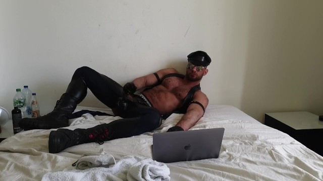Gay leather events in europe in april Leather hunk in chaps with gloves masturbating to porn paul europe