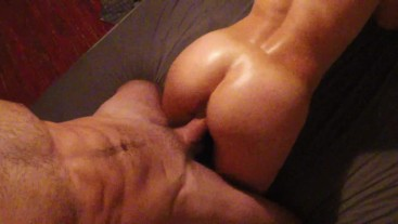 Young GF gets massage before getting fucked - Amateur FuckForeverEver