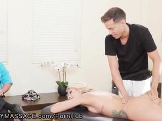 Hot Ass Hooker Fucking, FantasyMassage He Booked His Hot Latina Wife a Dirty Massage