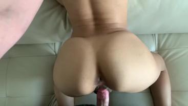 Sexy ass bubble butt latina girlfriend POV