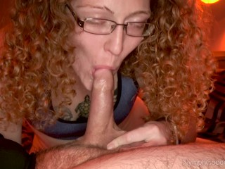Bbw Pantyhose Feet Redhead Milf Ivy Sensually Sucks Cock Until Her Mouth Is Pumped Full