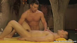 Anal Massage Relaxes His Ass
