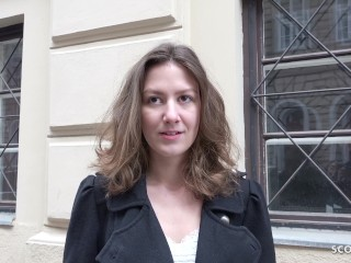 Real Milf Bangs German Scout - Schlankes Teen Alessandra Bei Strassen Casting Gefickt, Big Dick