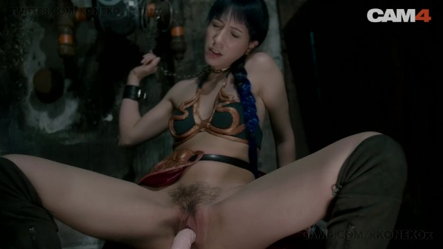 Adult apps droid Slave leia chained and fucked by her droid