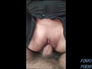 Cock Rides Tiny video: TINY ASIAN PINAY RIDES BIG COCK
