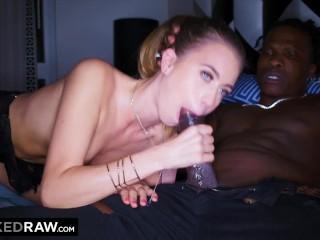BLACKEDRAW This rich white girl will only fucks black guys