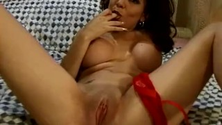 Making Her Hairy Pussy Cum