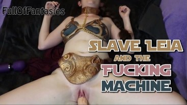Slave Leia & the Fucking Machine (POV) | May the Fourth be with You!