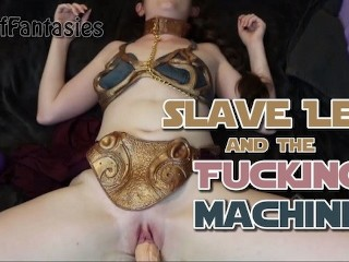Slave leia the fucking machine (pov) may the fourth be with you