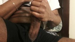 IssaNut gets FREAKY and TALKS DIRTY while STROKING fat dick for HUGE LOAD