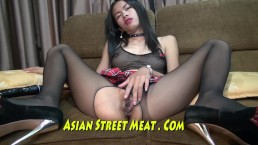 Ejaculate Down Her Asian Throat And Up Her Asshole
