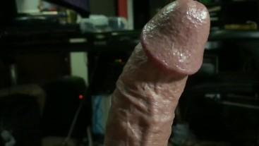 Beautiful UpClose Throbbing Hung Puerto Rican Cock