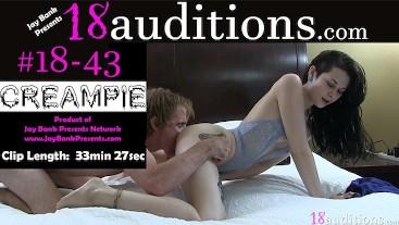 #18-43 Teen Creampie - Rough Sex
