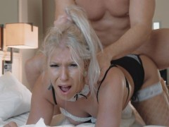 Hardcore PRONE BONE ASS Destruction Painfull Cry Anal and huge Creampie