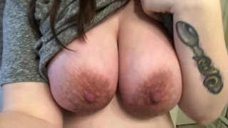 Touching myself after getting fucked