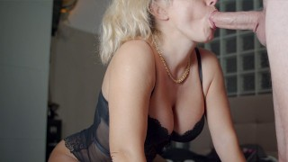 Pulsating oral creampie, I swallow it all when throbbing - 4K