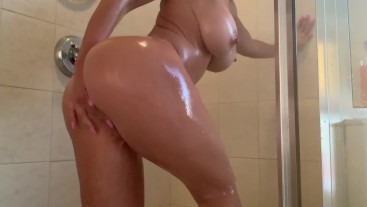 playing with myself in the shower