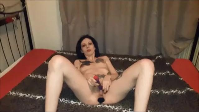 Nude aka Slut lucy aka lucy ravenblood strips and dildo play