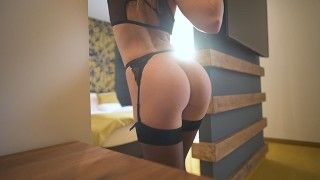 Underwear Model REALLY wants to get that JOB - morningpleasure