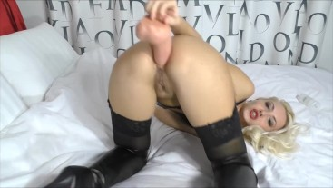 Speculum in ass Anal fisting And Anal orgasm close up
