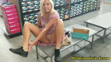 Public Flashing #1 with Ms Paris Rose