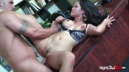 HOT ASIAN MILF ASSISTANT FUCKS HER BOSS IN THE OFFICE