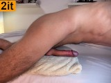 Hot Guy Moaning While Humping Pillow - Hands Free Cum - 4K