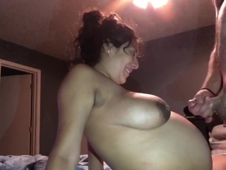 Free Amateur Porn Audition Videos Thicck Pregnant Latina Slut Fucks Big Cock
