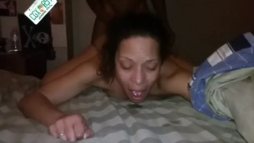 Backshot and cum on her ass. Girl from St. Andrew