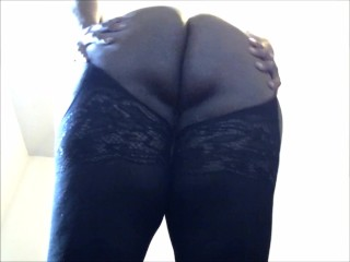 Big booty shemale shows teacher her curves