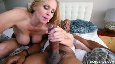 BANGBROS - Sexy MILF Julia Ann Gets Her Big Black Cock Craving Satisfied