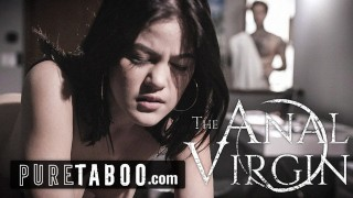 PURE TABOO Virginal 18yo Step-Sister Longs 2 Try ANAL with Bro