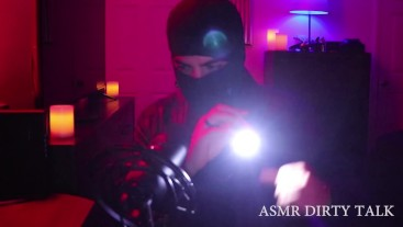 ASMR Burglar Role Play Ft. Rough Aggressive Leather Domination, Gloves, +