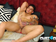 Dorian Lux on Flirt4Free - Huge Uncut Cock Muscle Worship Latino Stud