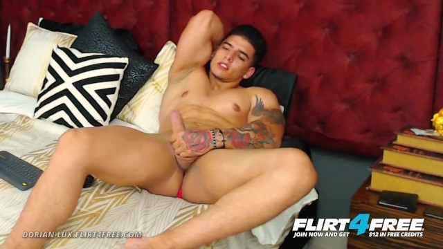 Free gay muscle worship galleries - Dorian lux on flirt4free - huge uncut cock muscle worship latino stud