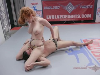 Lauren Phillips Nude Wrestling Loser Fucked in the Ass – Evolved Fights