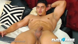 Dorian Lux on Flirt4Free - Muscle Worship This Latino Stud w Big Uncut Cock