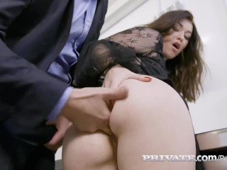 Sklenarikova Nude Private.Com - Misha Cross Deep Throats & Anal Bangs A Cock! Blowjob