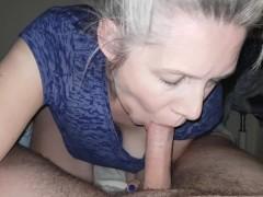 hot mature blowjob and riding