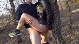 Road Trip Pt. 2 - Sex in Manitoba Park in Leather Jacket