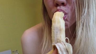 Eat a Banana Seductively