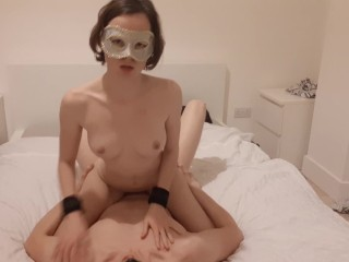 Petite Teen Gets Dick in Multiple Positions after a Blowjob - TheMaskedCat