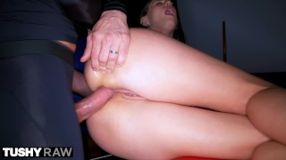 TUSHYRAW Petite Beauty Wants Anal All Day Everyday