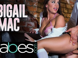 Sexiest Hottest Porn Babes - Big Tit Bad Schoolgirl Abigail Mac Seduces Her Big Dick