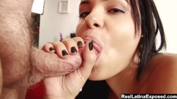 Lovely Angelica Stoli Gives Some Good Head