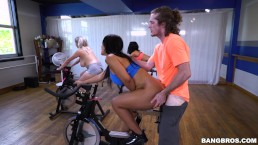 BANGBROS - Rose Monroe Attends Spin Class, Gets Her Big Ass Fucked By Brick
