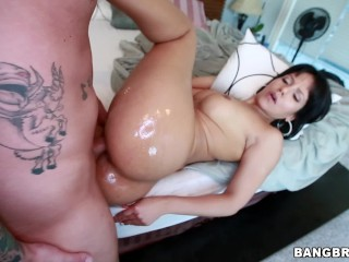 Sagger Booty Fucking, BANGBROS- LatinA With a Perfect natural Big ass, Rose Monroe, Getting Fuck Big