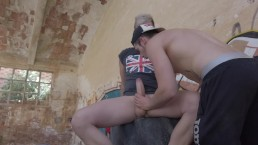 BLOWJOB IN ABANDONED HOUSE 2