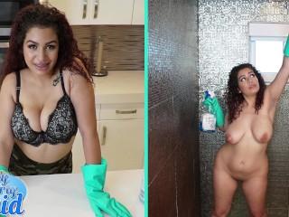 BANGBROS – Thicc Dominican Maid Samantha Rose Takes Big Dick