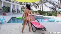 BANGBROS - Thick Latina Rose Monroe Tries Anal Wth Rico Strong's BBC